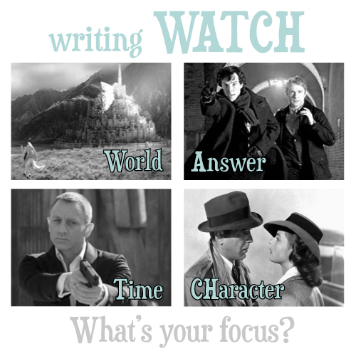 W.A.T.CH.: Which will you focus on in your writing?