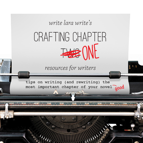 Crafting Chapter One