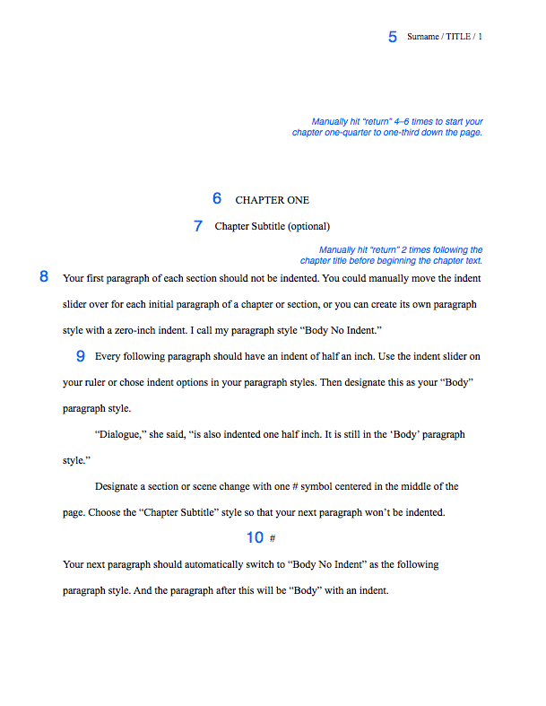 How to Format your Novel Manuscript and Query Letter