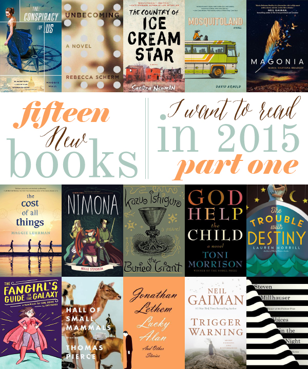 15 New Books in 2015 (January–June) | Write Lara Write