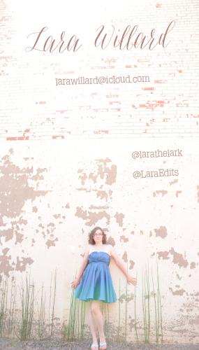 Contact me at larawillard (at) icloud.com