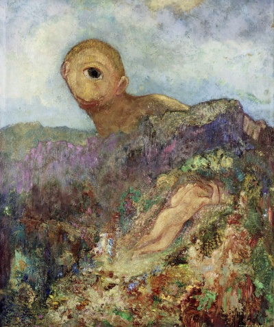 odilon-redon-the-cyclops-1914-trivium-art-history