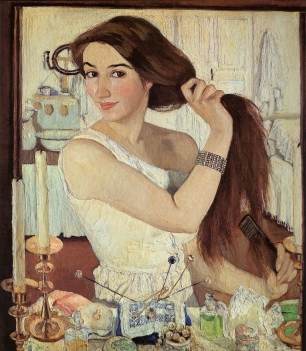 zinaida-serebriakova-self-portrait-at-the-dressing-table-1909-trivium-art-history