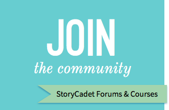 Join the StoryCadet Community at StoryCadet.com