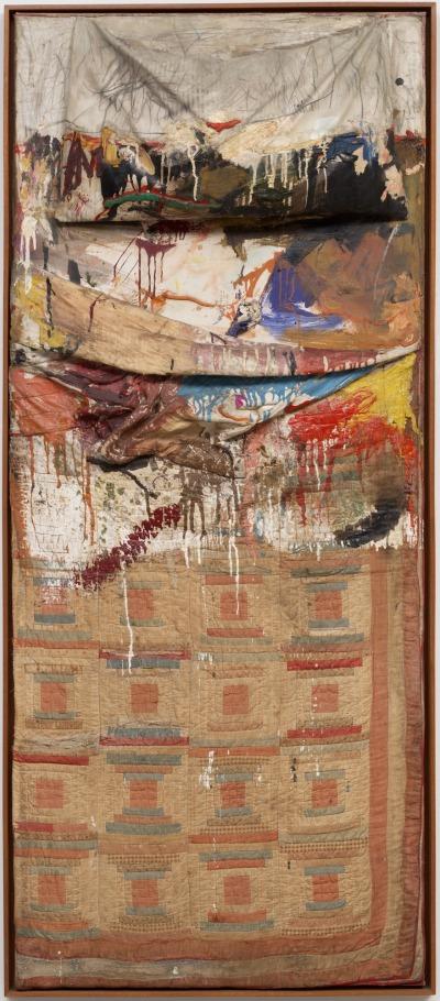 robert-rauschenberg-bed-1955-trivium-art-history